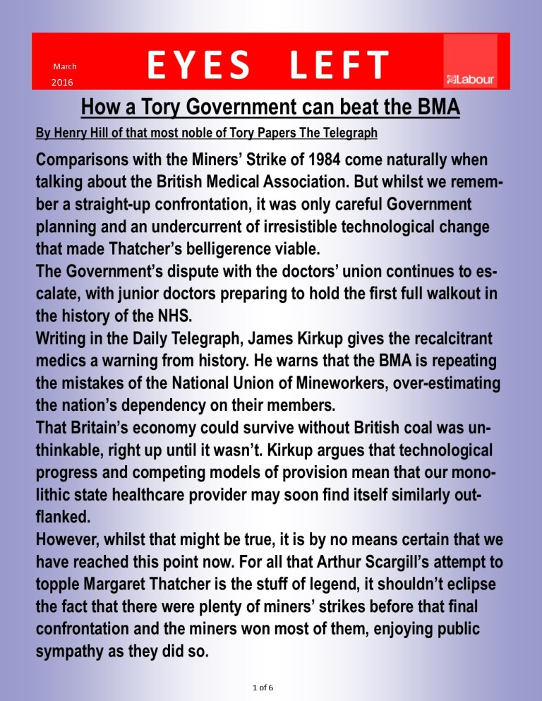 Publication 1 How to beat the BMA 1 of 6