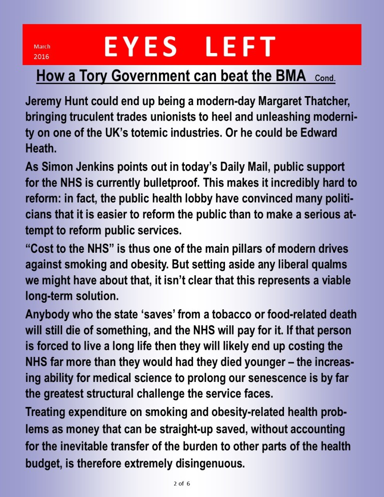 Publication 1 How to beat the BMA 2 of 6