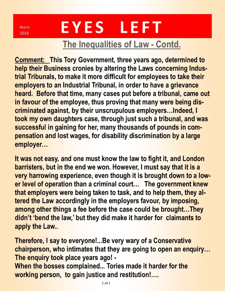 Publication1 the inequalities of Law 2 of 2