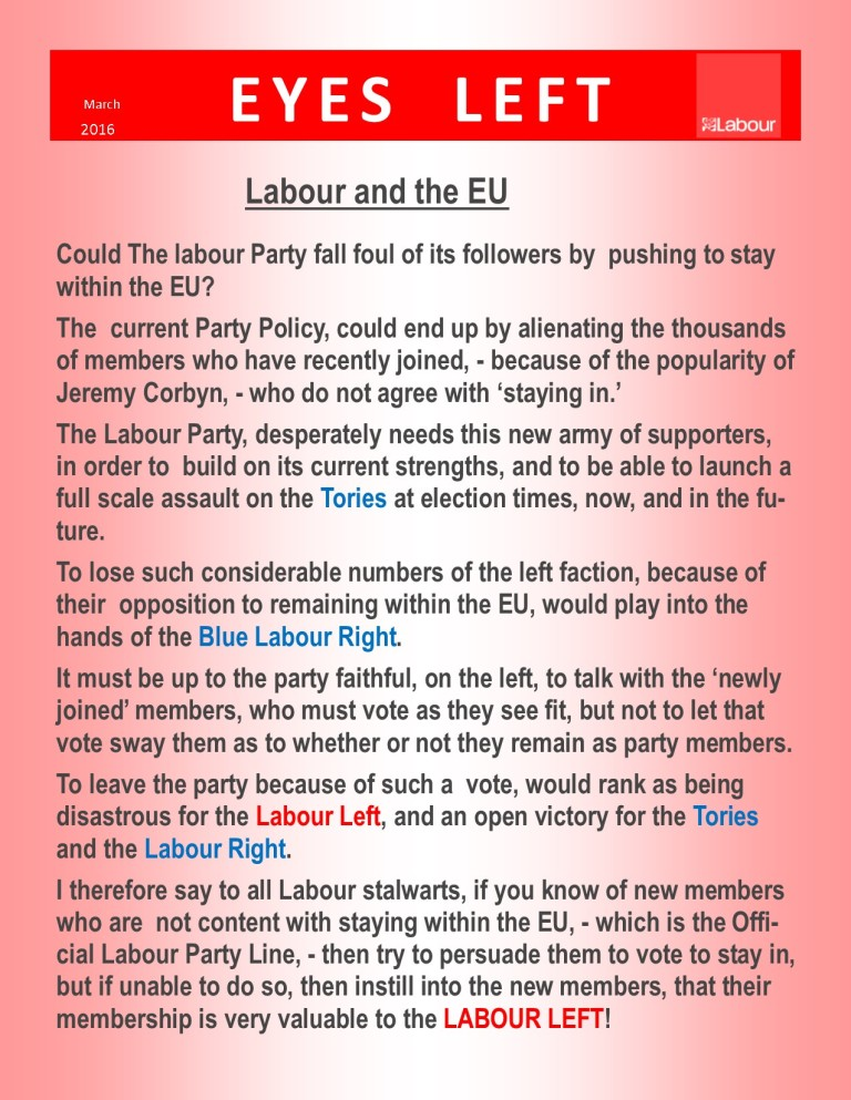 Publication1 The left and the EU Blog