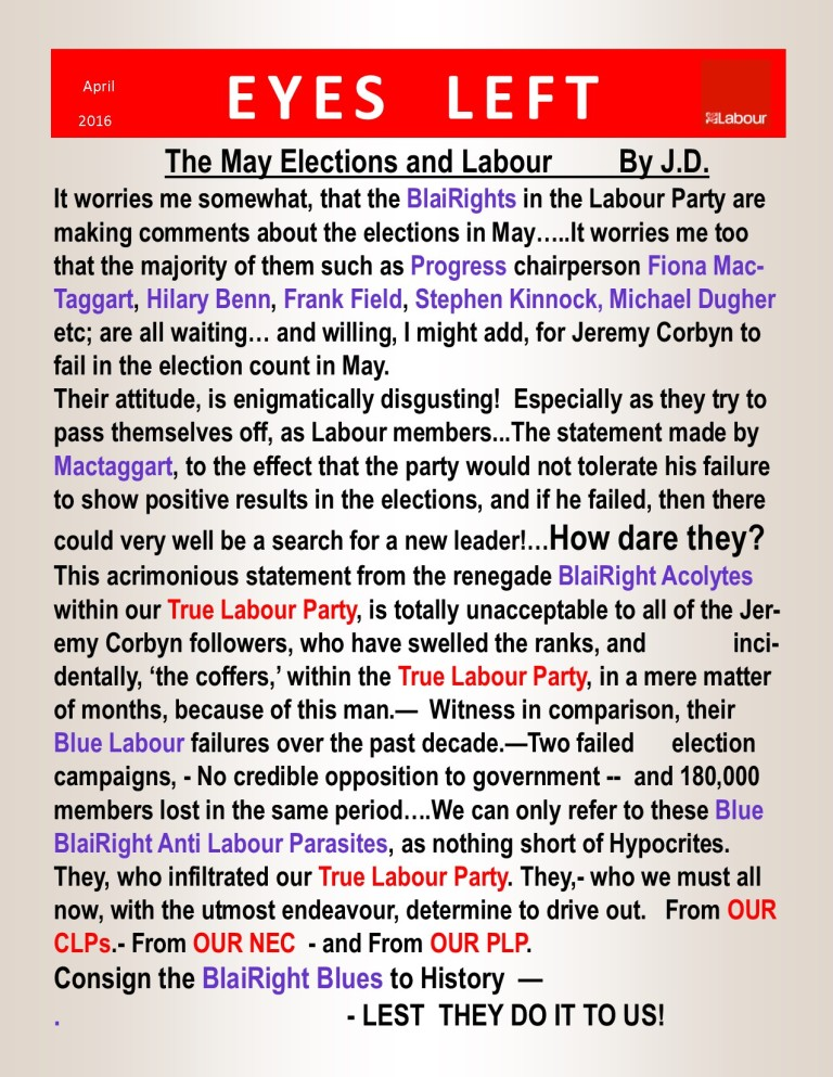 Publication1  Blairites and labour May elections