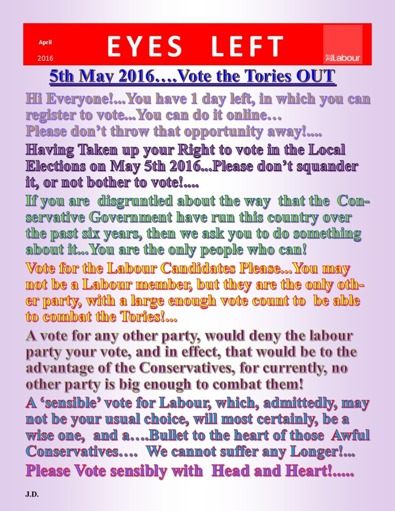 Publication1  Vote Tories Out