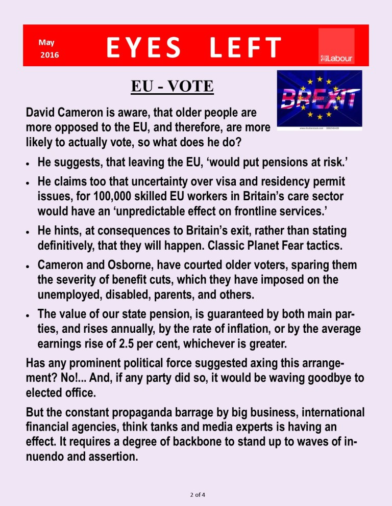 EU OUT - Brexit 2 of 4