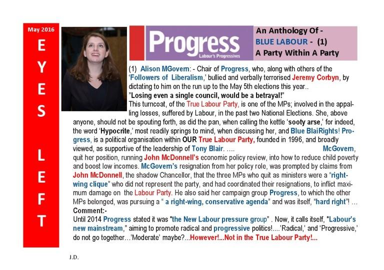 Publication1  Progress Page 1 Alison mcgovern
