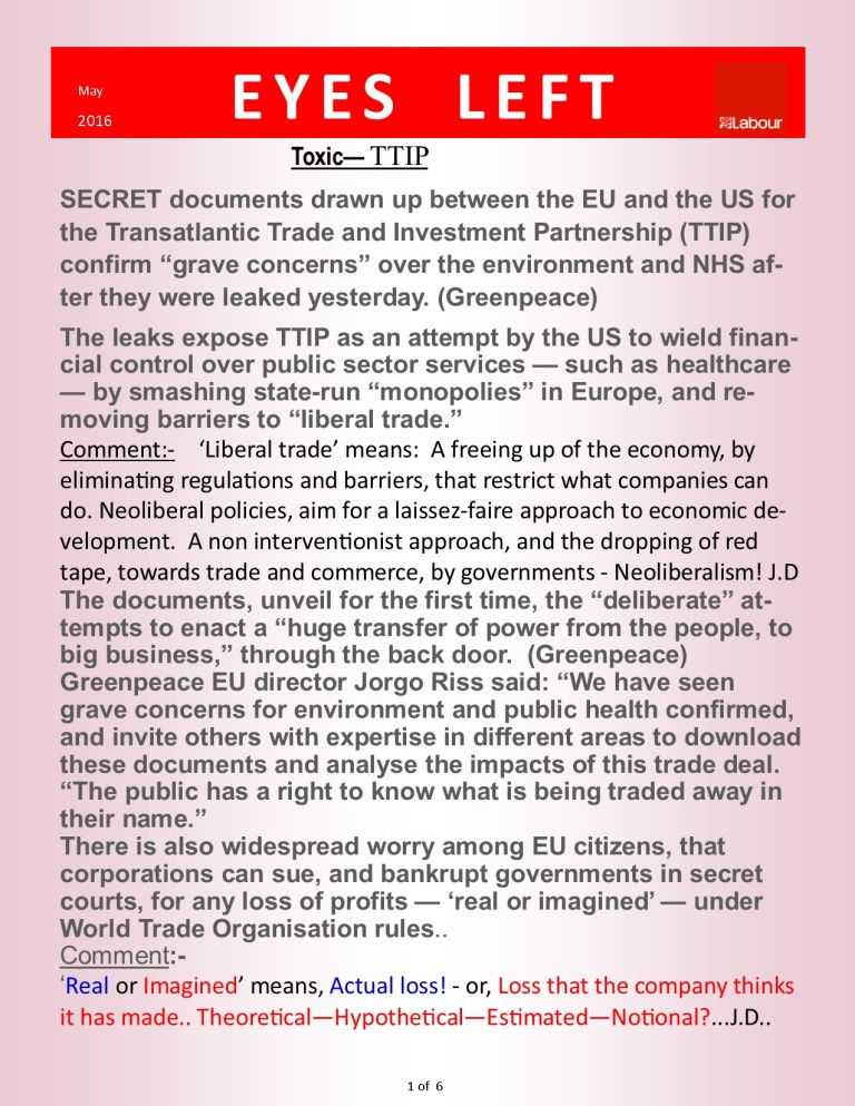 Publication1  TTIP Greenpeace    1 of 6