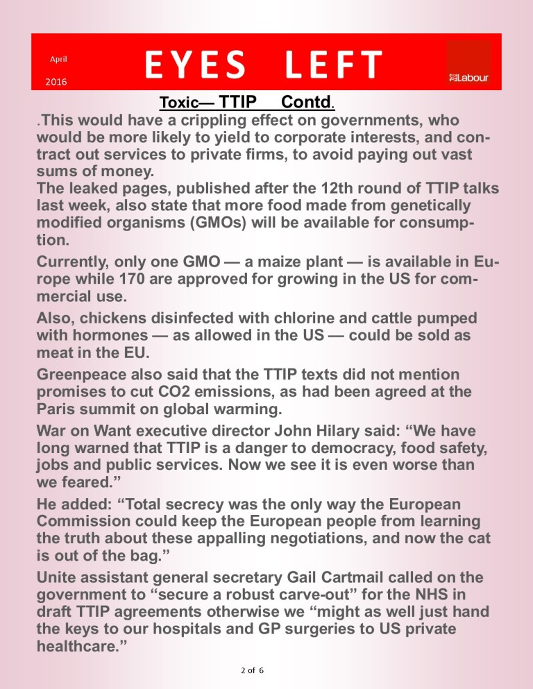 Publication1  TTIP Greenpeace    2 of 6