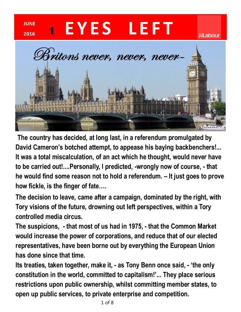 Publication 1   Britain..never,never, never... 1of 8