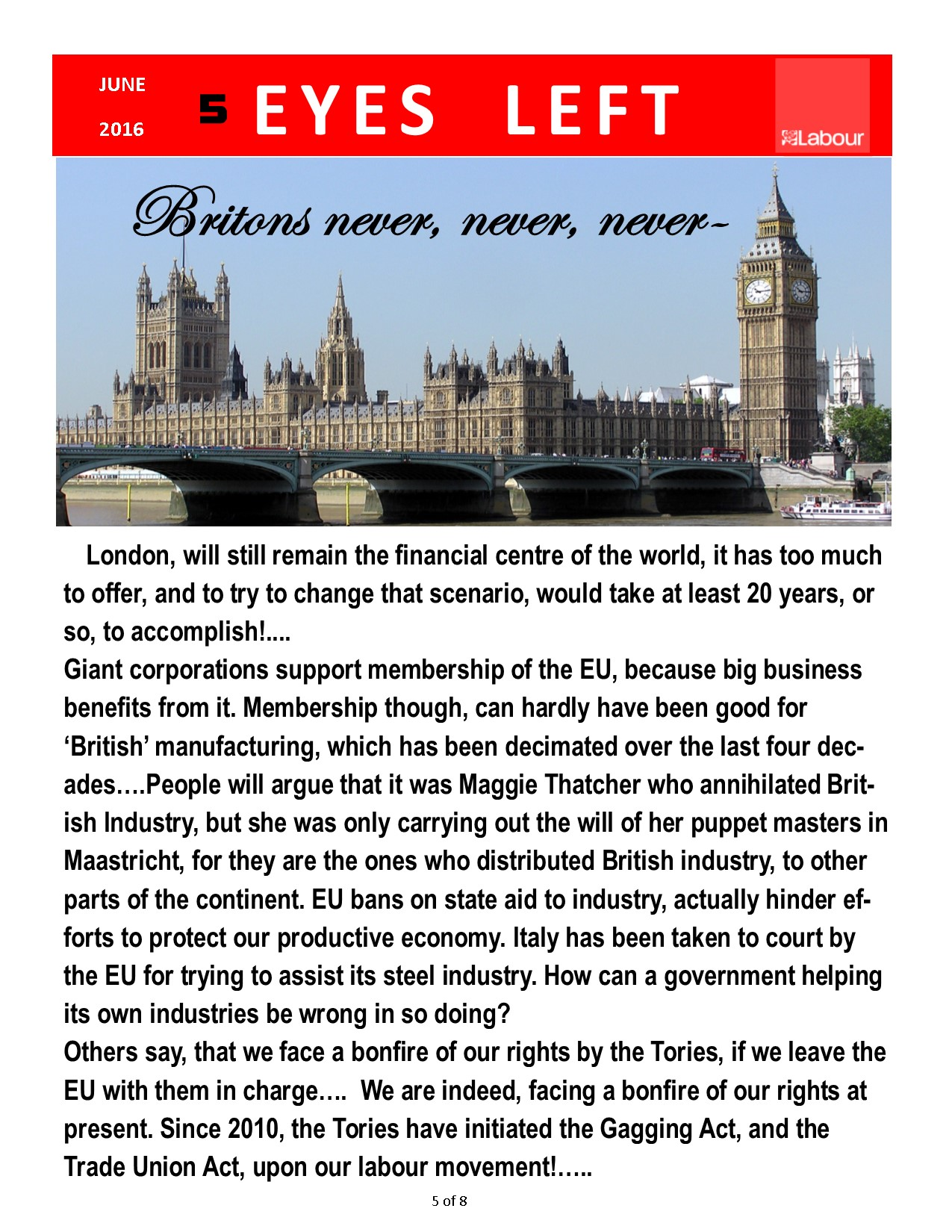 Publication 1   Britain..never,never, never... 5 of 8