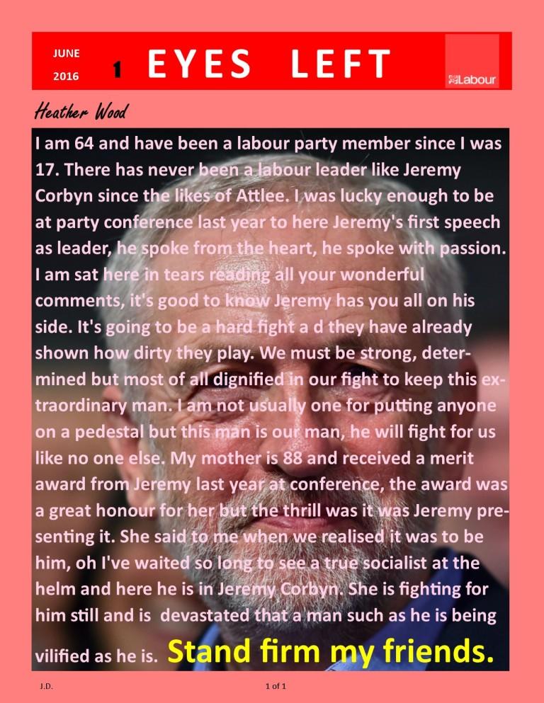 Publication 1   Heather Wood Jeremy Corbyn