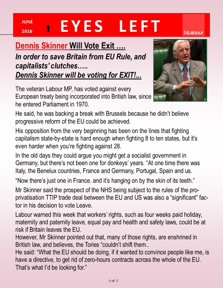Publisher File Template - Dennis Skinner vote leave 1 of 2