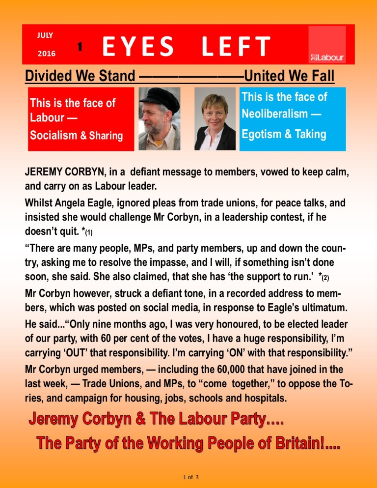Publication1  Jeremy Corbyn divided we fall 1 of 3