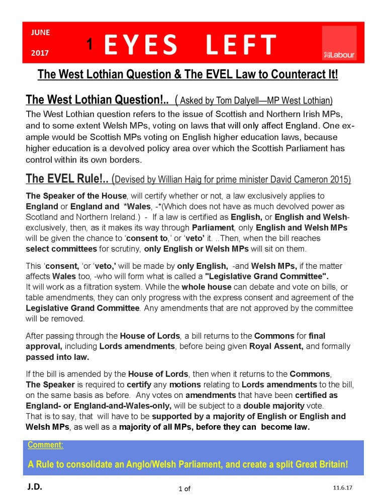 Publication1 The EVEL RULE