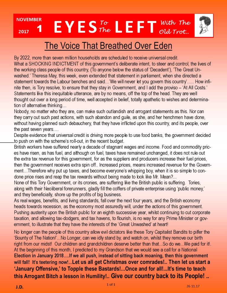 Publication1 Eyes Left The voice that breathed over eden
