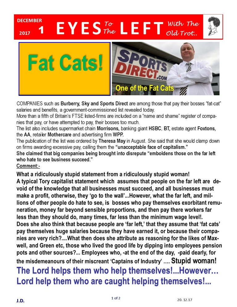 Publication1 Eyes Left Fat Cats 1 of 2