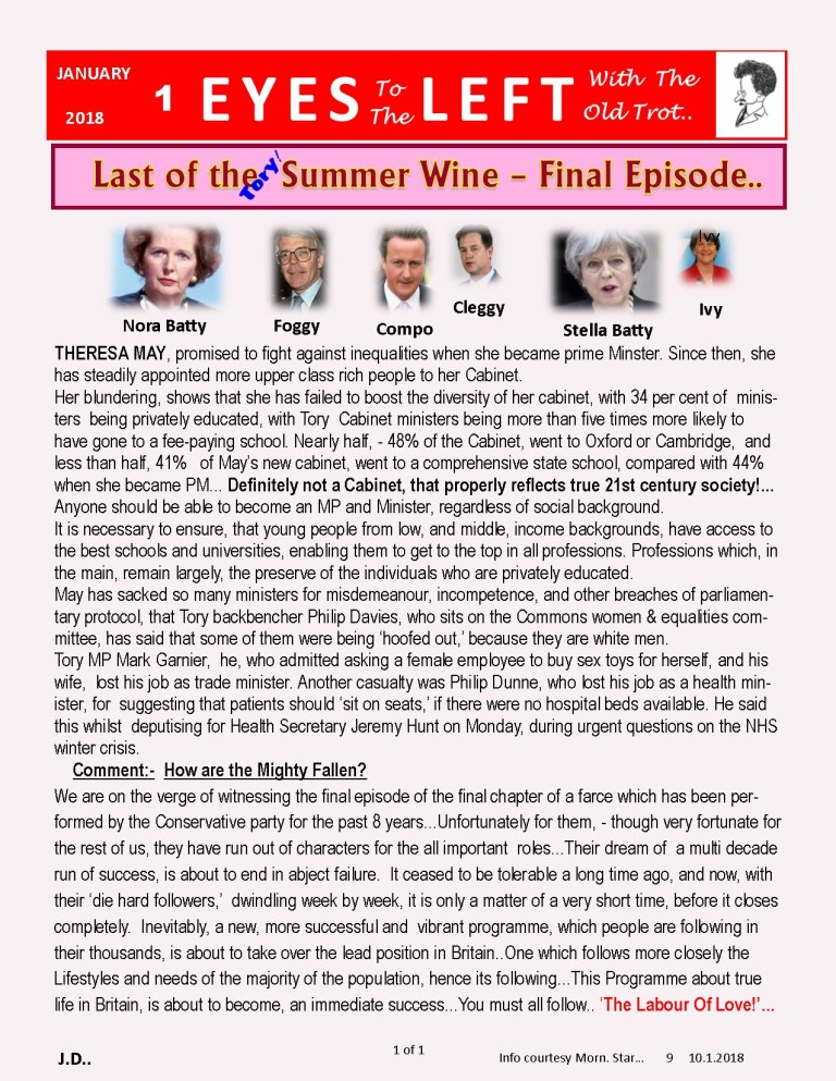 Publication1 Eyes Left Last of the summer wine