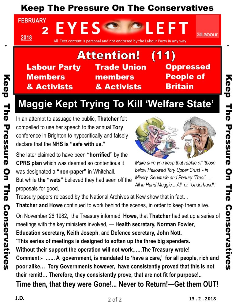 Publication1 Eyes Left Maggie to Theresa...Tories 2 of 2