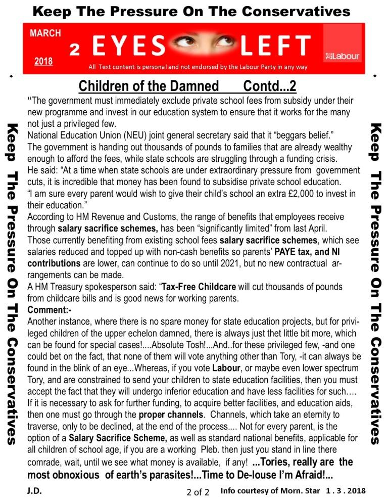 Publication 1 Eyes Left Children of the damned 2 of 2