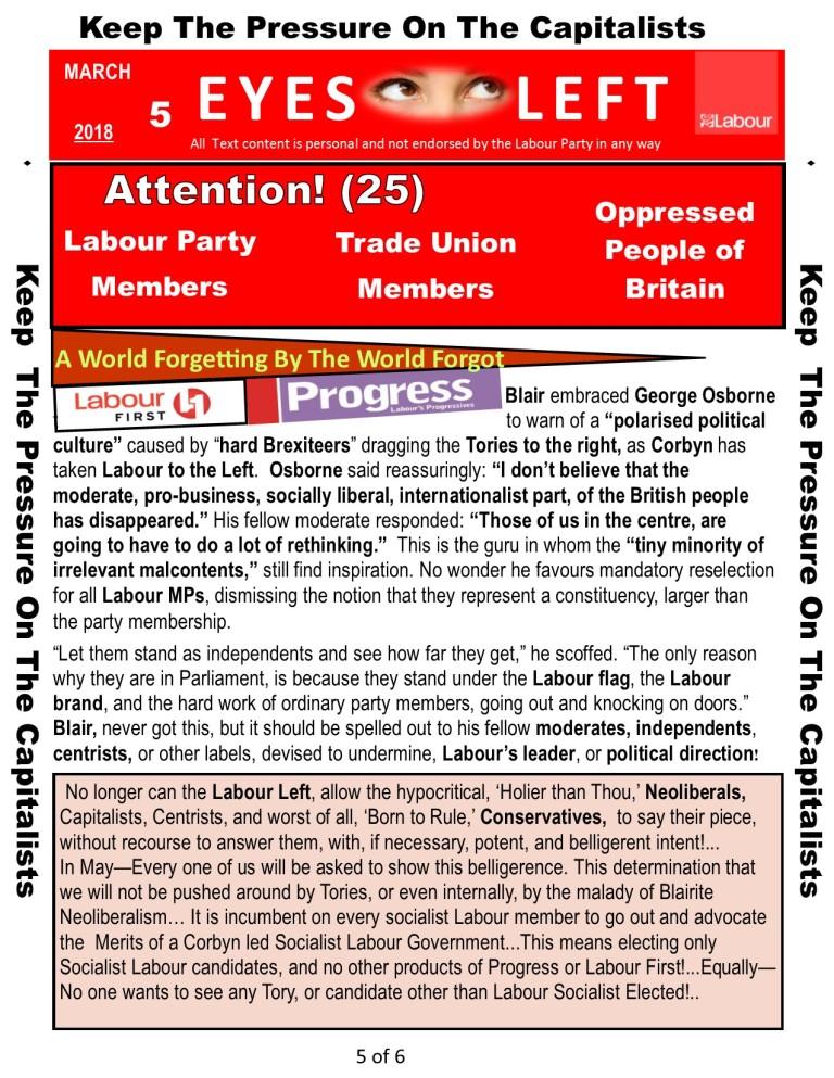 Publication 1 Eyes Left Progress and Labour 5 of 6