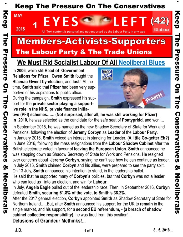 Publication 1 Eyes Left Give ourselves a chance - Owen Smith