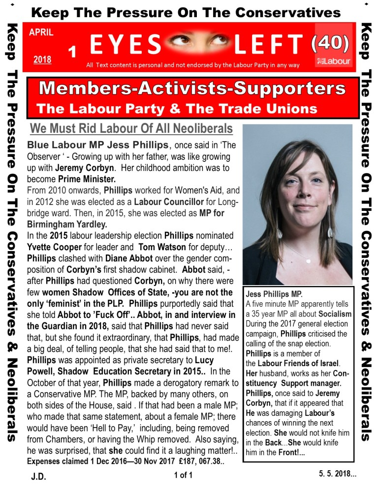 Publication 1 Eyes Left Jess Phillips