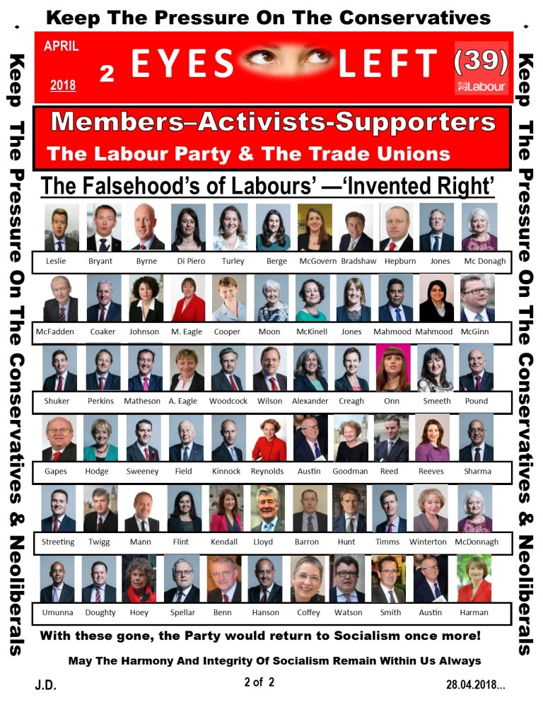 Publication 1 Eyes Left The truth about Labour Right 2 of 2
